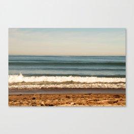 Beach photograph. Layer Cake Canvas Print