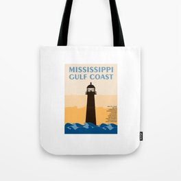 Mississippi's Gulf Coast. Tote Bag