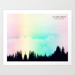 Calliope Forest - Calliope serie Art Print