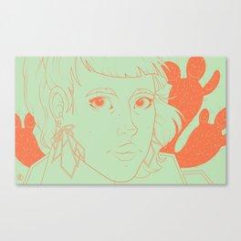 Etsy Girl Canvas Print