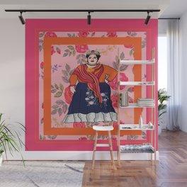Fluffy Francesca Wall Mural