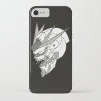 gundam iPhone & iPod Cases featuring Gundam x Eva by AltheonBallistics