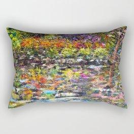 Hidden Peace by Sher Nasser Artist Rectangular Pillow