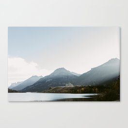 Prince of Whales Hotel - Waterton, Alberta Canvas Print
