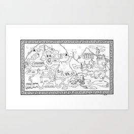 The Excavation Art Print