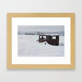 Slow Ride Framed Art Print