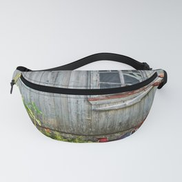 Barn Dog watches over the tomatoes Fanny Pack