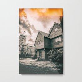 Roger Corwin House - The Witch House - Salem MA Metal Print