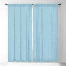 Seattle Expressions ~ Robin's Egg Blue Blackout Curtain