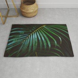 Tropical Palm Leaf Rug