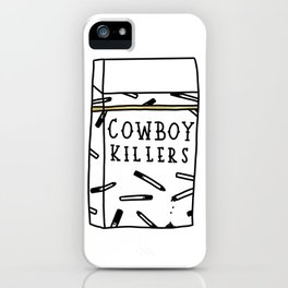Cowboy Killers iPhone Case