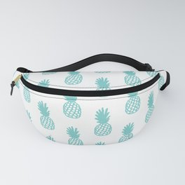 Aqua Pineapple Fanny Pack