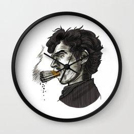 London Smoking Habit Wall Clock