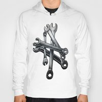 tool Hoodies featuring Tool by LewisLeathers