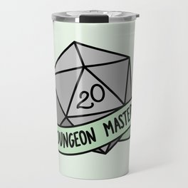 Dungeon Master D20 Travel Mug