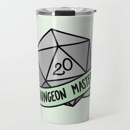 Dungeon Master D20 Travel Mug