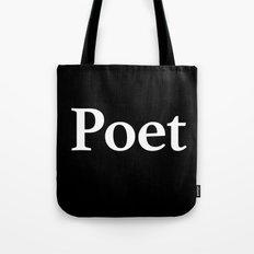 Poet inverse edition Tote Bag