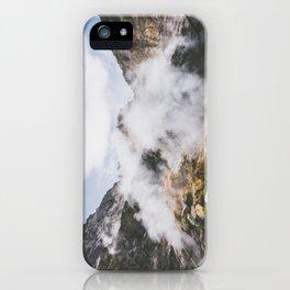 Volcano, Italy iPhone Case