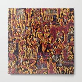 Timeless Fantasies of the Calendar Goddess Metal Print