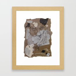 Cardboard Illustration Framed Art Print