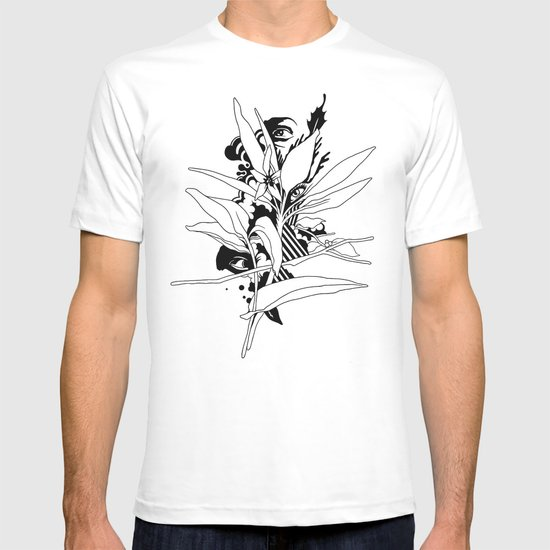 eye & leaf T-shirt
