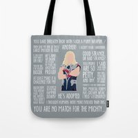 thor Tote Bags featuring Thor by MacGuffin Designs
