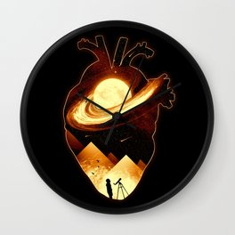 A Beat of Space Wall Clock
