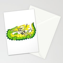 Lucha verde limón Stationery Cards