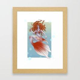 Goldeen Framed Art Print