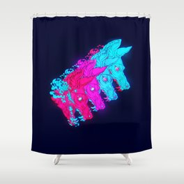 P L U N G E Shower Curtain