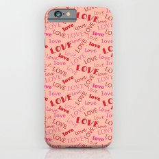 Valentine love 1 iPhone 6s Slim Case
