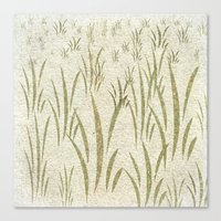 grass Canvas Prints featuring Grass by Armin