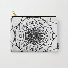 love mandala number 4 - big flower Carry-All Pouch