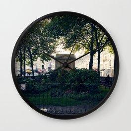 La Place de Rêves Brisés // Place of broken dreams Wall Clock