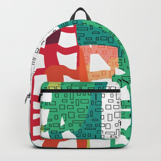 Where City Meets Jungle Backpack