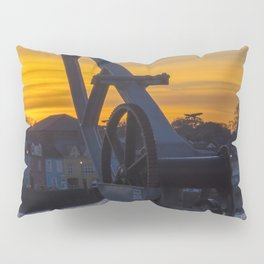 Donaghadee Crane - Sunset Pillow Sham