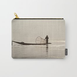 Inle Lake Myanmar Carry-All Pouch