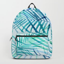 Tropical Palm Pattern Backpack