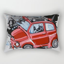 Carsharing Rectangular Pillow