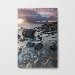 Sunset at Elgol III Metal Print