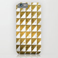 Marble and Gold Pattern #1 Slim Case iPhone 6s