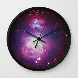 Great Orion Nebula Wall Clock