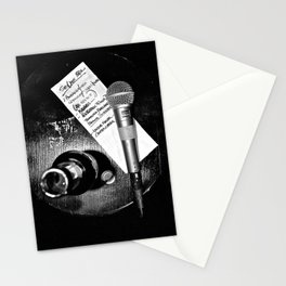 ...is this thing on? Stationery Cards