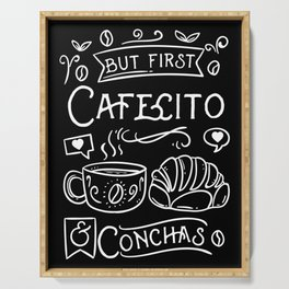 But First Cafecito & Conchas Serving Tray