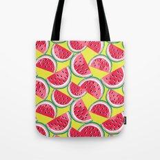 Watermelon Watercolor Tote Bag