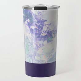 Bit of Brushstroke - Royal Blue Travel Mug