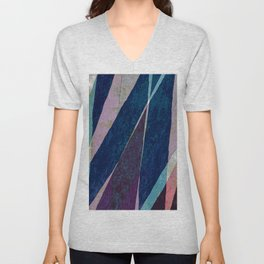 my father's ties Unisex V-Neck