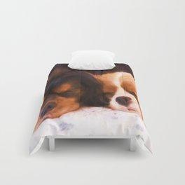 Sleeping Buddies Cavalier King Charles Spaniels Comforters