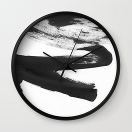 b+w strokes 5 Wall Clock