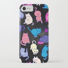 Cat Space iPhone 7 Slim Case